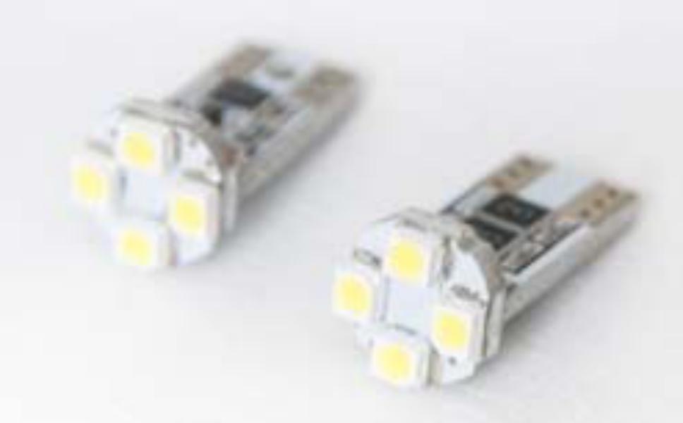 bottari-17874-t10-canbus-4smd3528-12v-white-2pcs