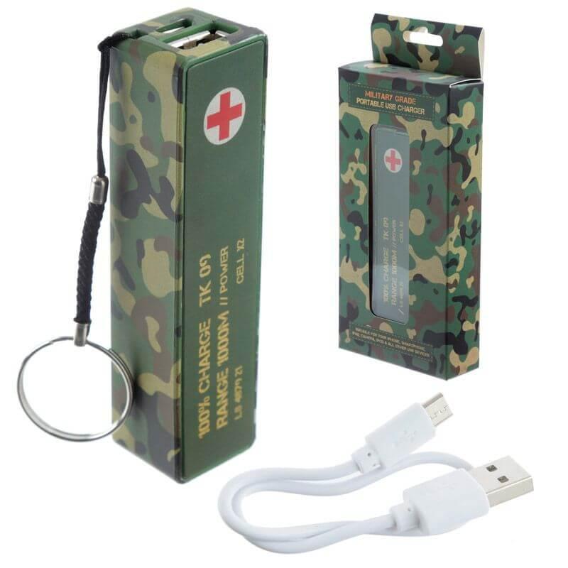 PUCKATOR CHAR07 - CARGADOR USB CAMUFLAJE
