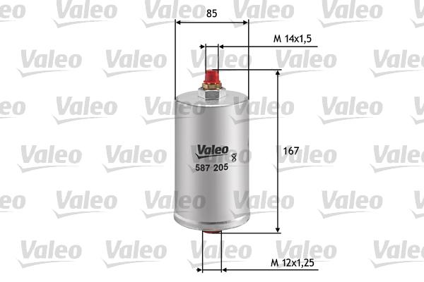 valeo-587205-filtro-combustible